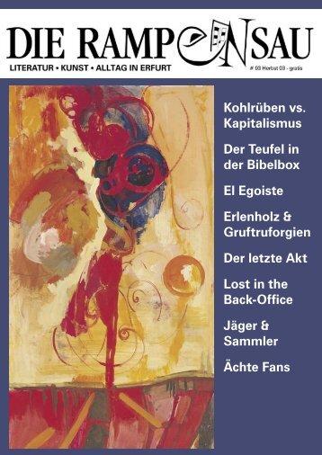 Kohlrüben vs. Kapitalismus Der Teufel in der Bibelbox ... - Anna Kram