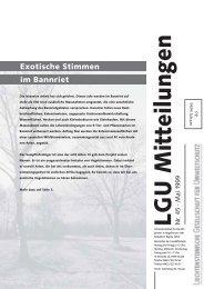 Umbruch Flattersatz Nr. 45 - Liechtensteinische Gesellschaft für ...
