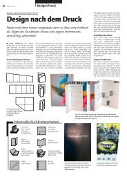 Design nach dem Druck - Publisher