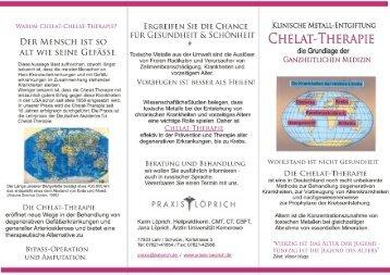 Praxisflyer Chelat-Therapie - Loeprich.de