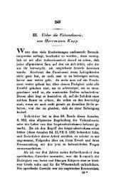 m. Ueber die Voliimtheorie; o m Herrmann Kopp.