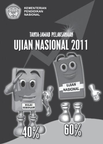 Buku Tanya Jawab Pelaksanaan Ujian Nasional 2011