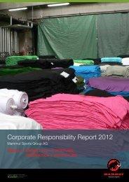 Modul 2: Umweltverantwortung: Produktion & Materialien - Mammut