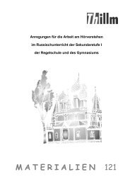 Publikation Materialien 121: Russisch
