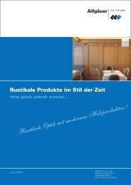 Altholzprodukte 2013