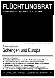 als PDF - Flüchtlingsrat Niedersachsen