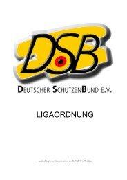DSB-Ligaordnung 2013_14 - Deutscher Schützenbund eV
