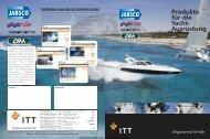 ITT Jabsco - Marine Product Guide 2008 - Busse Yachtshop