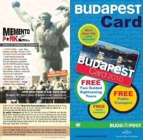 The Budapest Card
