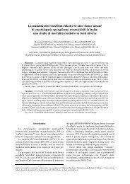 La malattia di Creutzfeldt-Jakob e le altre forme umane di ...