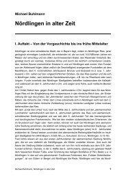 Nördlingen in alter Zeit - Michael-buhlmann.de