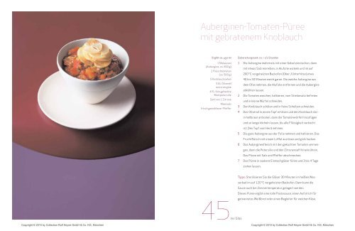 Auberginen-Tomaten-Püree mit gebratenem Knoblauch - Relax Guide
