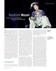 Nordlicht Mozart - Die Deutsche Bühne