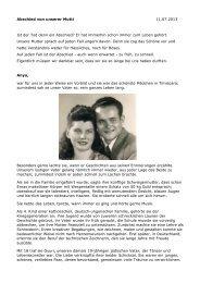 Abschied von unserer Mutti 11.07.2013 Ist der Tod ... - BJT2006.org