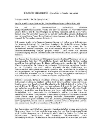 DEUTSCHE ÜBERSETZUNG – Open letter to Andritz – 21.3.2012 ...