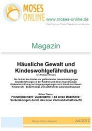 Moses Online Magazin -- Umschlag - 12-06-28