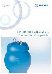 ERHARD BEV selbsttätiges Be- und Entlüftungsventil - Hagenbucher