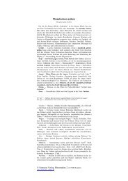 Narayana Verlag, Blumenplatz 2, D-79400 Kandern, Phosphoricum ...