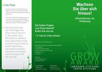 Download Grow Award Broschüre (.pdf)