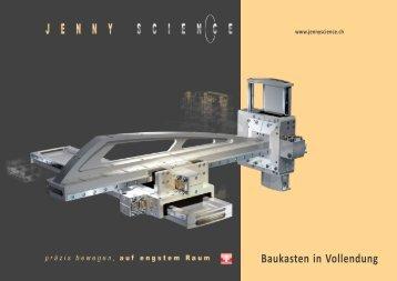 Baukasten in Vollendung - Jenny Science
