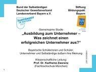 Berufsmotive - Gewerbeverband Bayern eV