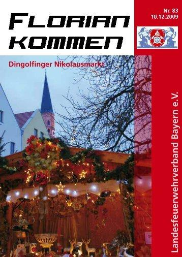 Ausgabe Nummer 83 - Landesfeuerwehrverband Bayern