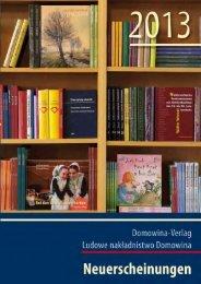 Untitled - Domowina-Verlag Bautzen