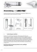 INSTALLATIONSANLEITUNG - Bird Free - Seite 4