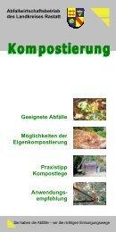 Flyer Kompostierung - Abfallwirtschaftsbetrieb des Landkreises Rastatt