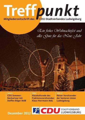 Ein frohes Weihnachtsfest und alles Gute für das Neue Jahr - CDU ...