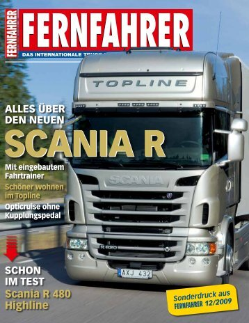 Scania R 480 Highline