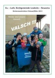 02-03 - Ev. - Luth. Kirchgemeinde Dresden-Leubnitz-Neuostra