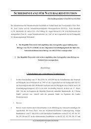 Entscheidung Nr. 654a/2010 - Nationalfonds der Republik ...