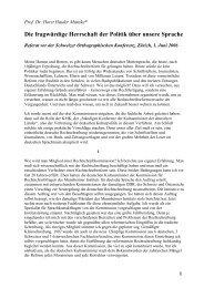 Referat Prof. Dr. Horst Haider Munske, Erlangen - SOK
