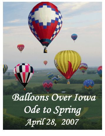 March/April 2007 - Balloons Over Iowa