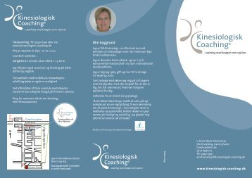 Download brochure - Kinesiologisk Coaching