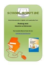 Satzzeichen auf Märchenreise - School-Scout