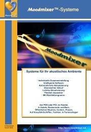 Download Moodmixer-Systeme für Gastro,Hotels, Handel oder Praxen