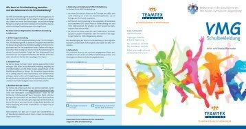 Flyer - Schulen in Regensburg