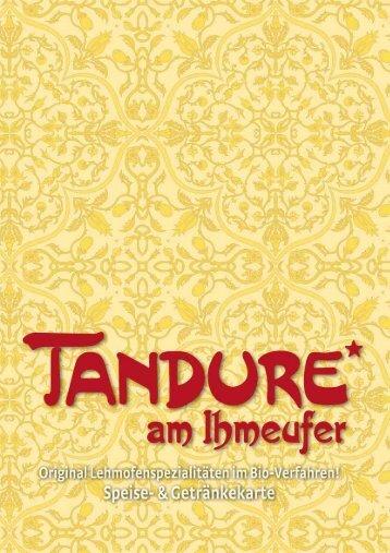 Vorbestellung - Tandure