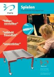 Sand-Wasser Tisch Maris - Maatwerk Kindermeubilair