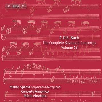 C.P.E. Bach - eClassical