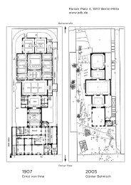 Grundrisse und Baugeschichte des Hauses Pariser Platz 4 (pdf