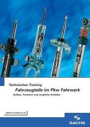 Fahrzeugteile im Pkw Fahrwerk - ZF Friedrichshafen AG