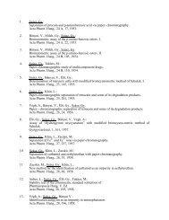 Teljes publikációs lista