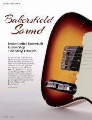 Fender Telecaster Custom Shop - MUSIC STORE professional