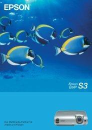 Epson S3 - HCinema