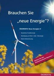 """Brauchen Sie """"neue Energie""""? - AECON GmbH"""