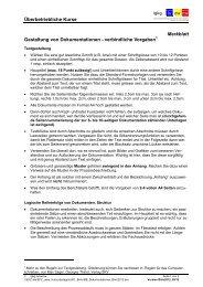 Merkblatt Dokumentationen - igkg-luownw.ch