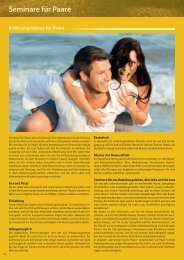 Seminare für Paare - Bewusster leben und lieben